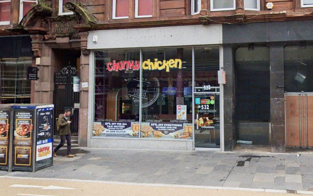 Chunky Chicken, 532 Sauchiehall Street, Glasgow, G2 3LX
